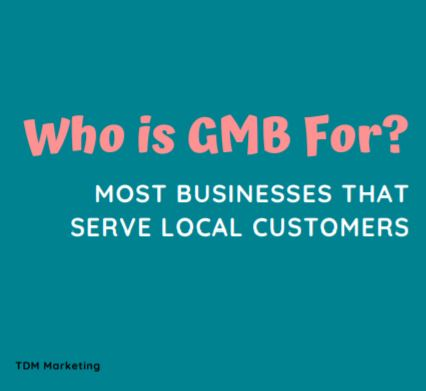 google my business for local customers