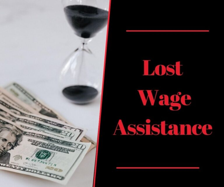 Unemployment lost wage assistance