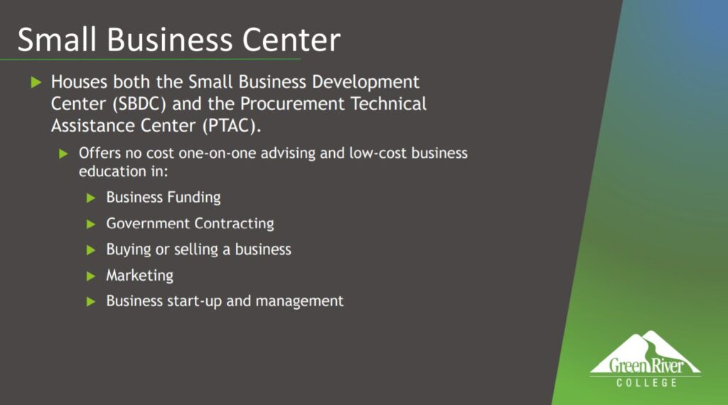 small business center at GRC