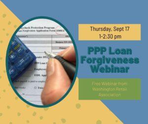 WRA free PPP loan forgiveness webinar