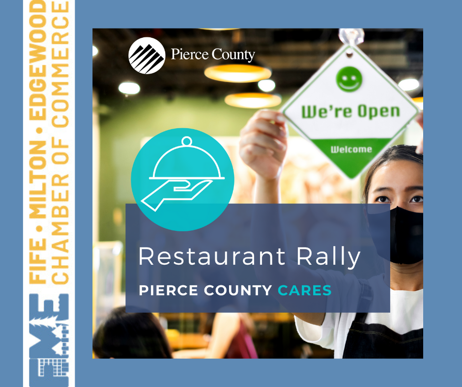 Rally for Restaurants in Pierce County Apply by Oct 23