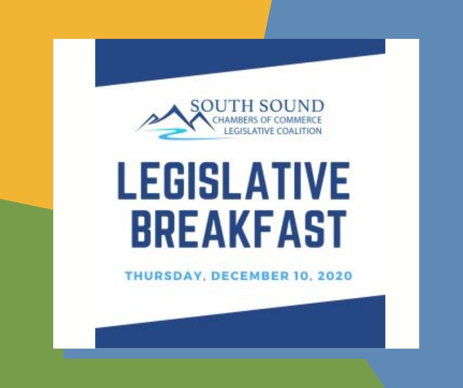 Legislative Breakfast with the South Sound Chambers of Commerce Legislative Coalition