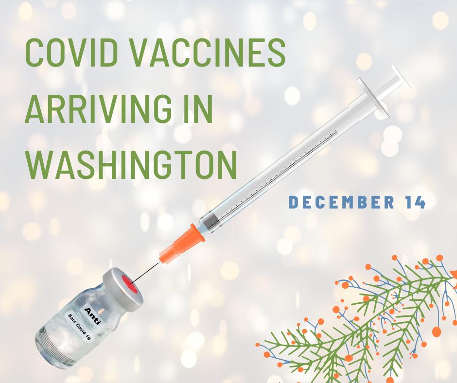 Covid vaccine arriving Monday