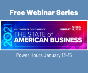 US Chamber: State of American Business webinar series
