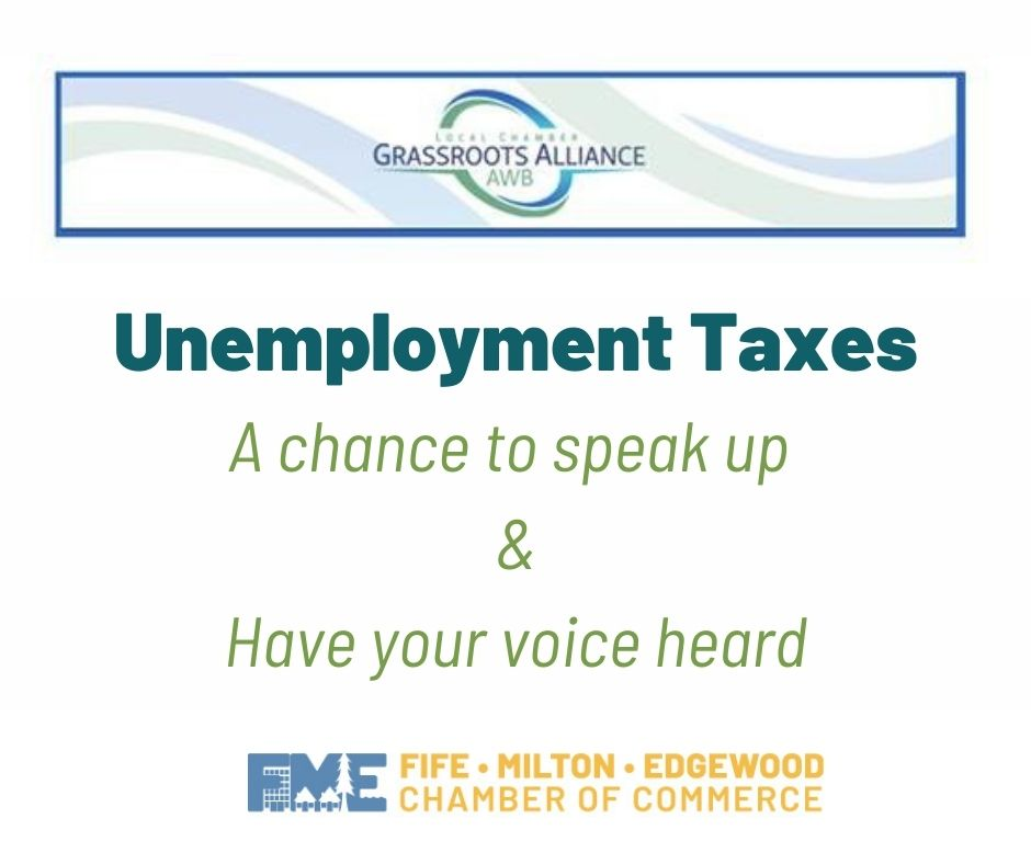 unemployment taxes and grassroots alliance