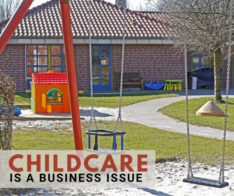 childcare is a business issue